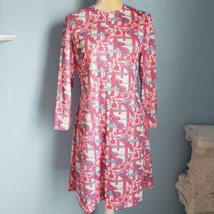 Dresses & Skirts - VTG handmade 60s/70s floral boho hippie dress E53